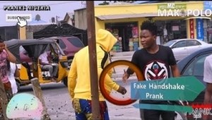Prank Video: Mc Makopolo - Fake Handshake